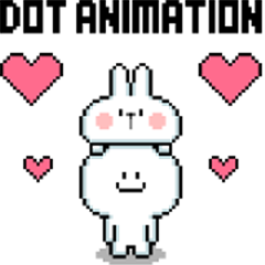 [Dot Animation] Spoiled Rabbit