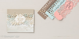 Stampin' Up! Falling in Love Suite ~ So Detailed Framelits + So in Love stamp set ~ 2017 Occasions Catalog