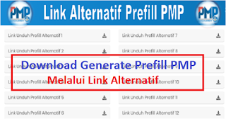 Link Alternatif Generate Prefill PMP 2019