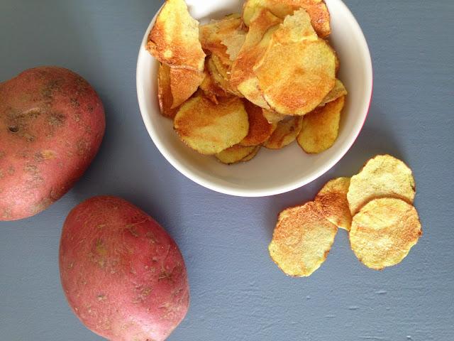 patatine fatte in casa salutari
