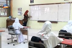 Guru Terpapar Covid, SMKN 1 Bojonegoro Kembali Belajar Daring