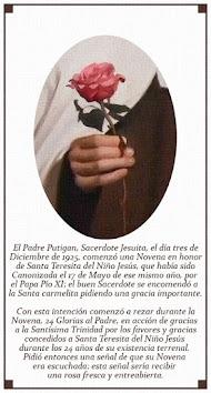 LOS 24 GLORIAS en Honor de Santa Teresita