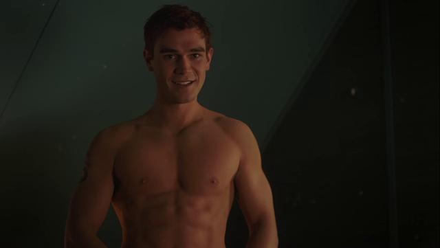 Alexis_Superfans Shirtless Male Celebs: KJ Apa shirtless