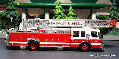 Cincinnati Ohio E-One Ladder