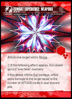 Attack type: Combat Experience Weapons