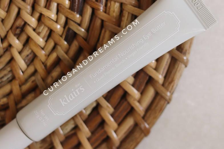 Klairs Fundamental Nourishing Eye Butter, Klairs Eye cream, Klairs india