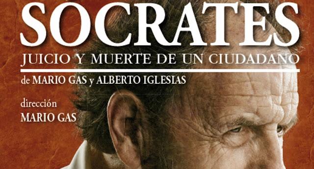 """Mario Gas, """"Sócrates. Juicio y muerte de un ciudadano"""","""