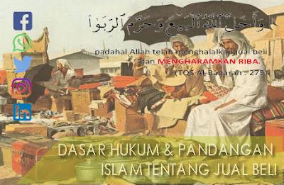 dasar hukum dan pandangan islam tentang jual beli