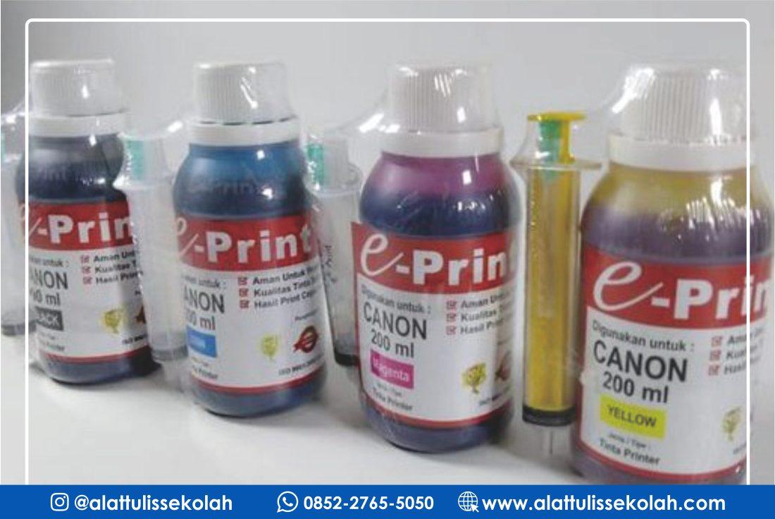Tinta Berkualitas ya Tinta E-Print Canon 200ml Black!