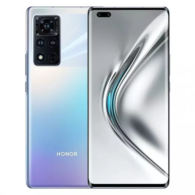 Honor V40 5G Titanium Silver