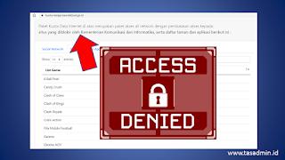 Aplikasi yang diblokir bantuan kuota internet Kemdikbudristek