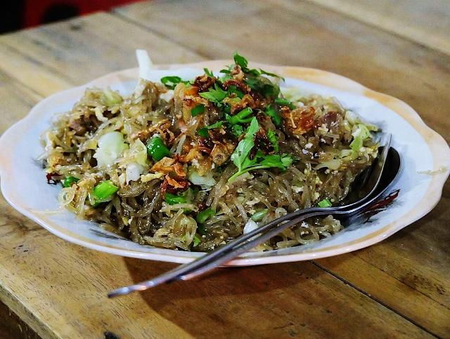 11 Kuliner Makanan Khas Bantul, Yogyakarta - Bakmi Lethek Bantul