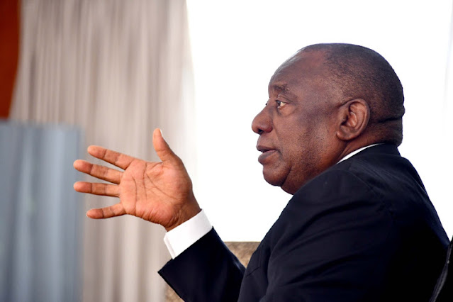 Ramaphosa announces cabinet reshuffle
