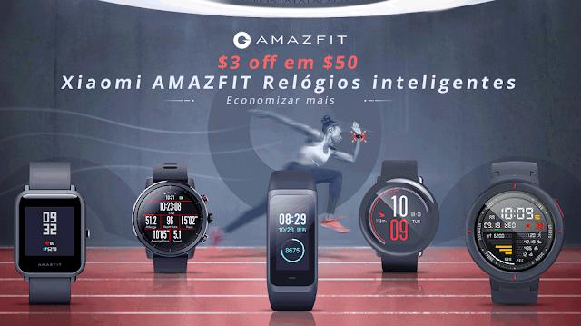 Promoção Amazfit - Excelente oportunidade!