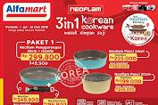 Harga Promo Alfamart 3 In 1 Korean Cookware Hingga 31 Desember 2019
