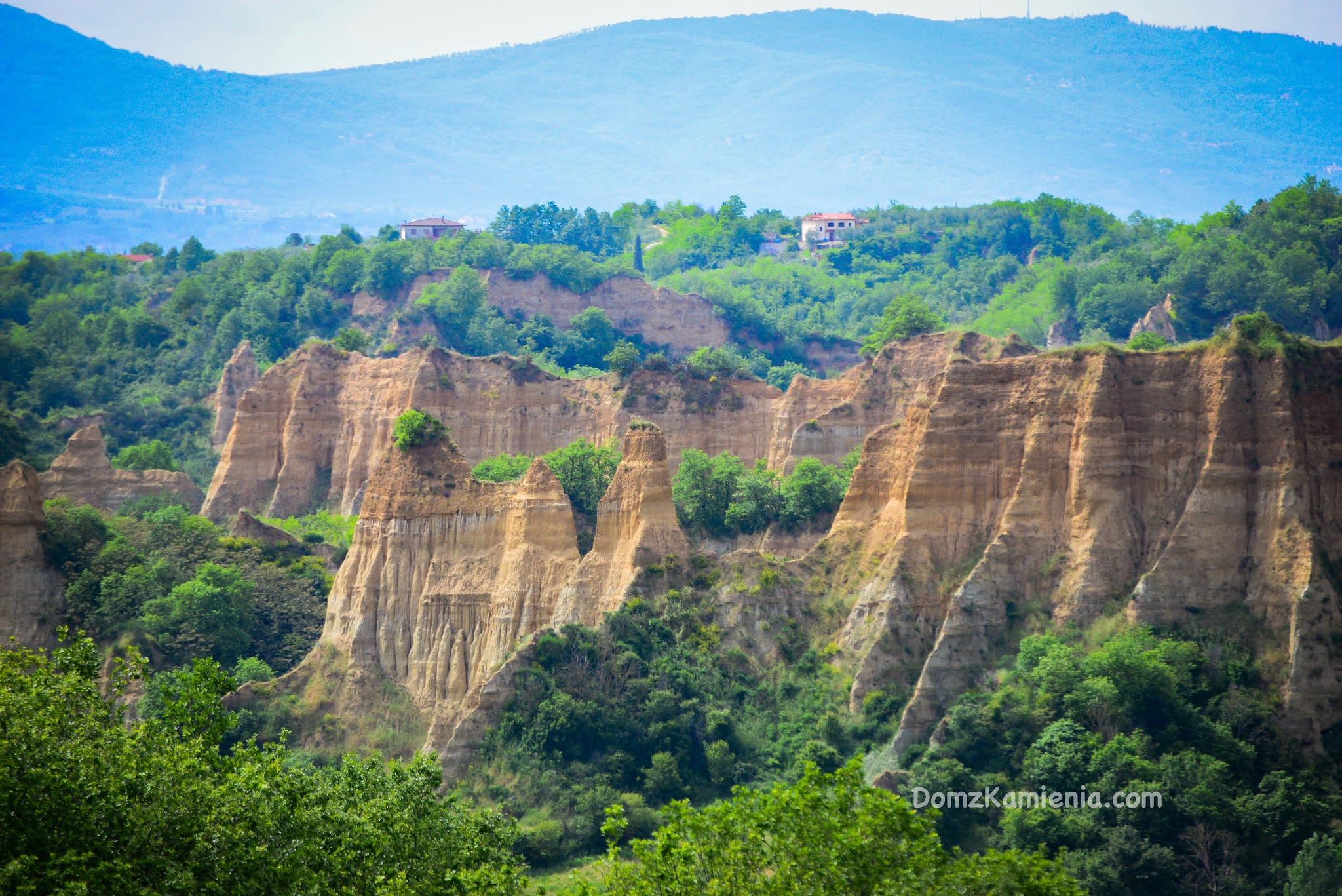 Balze di Valdarno, Dom z Kamienia blog o życiu w Toskanii