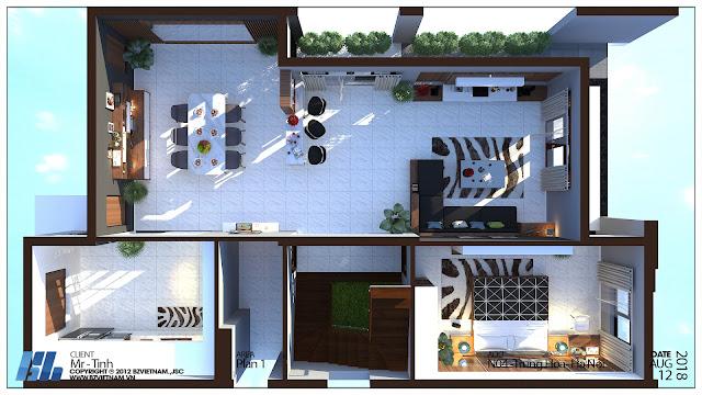 Mẫu thiết kế nội thất cơ bản