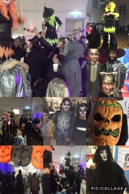 A montage of pictures from our recent Hallowe'en event in Tinsley