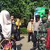 Pengamanan Kunjungan Bupati Purbalingga Dyah Hayuning Pratiwi di Dua Lokasi Dari Polsek Bukateja
