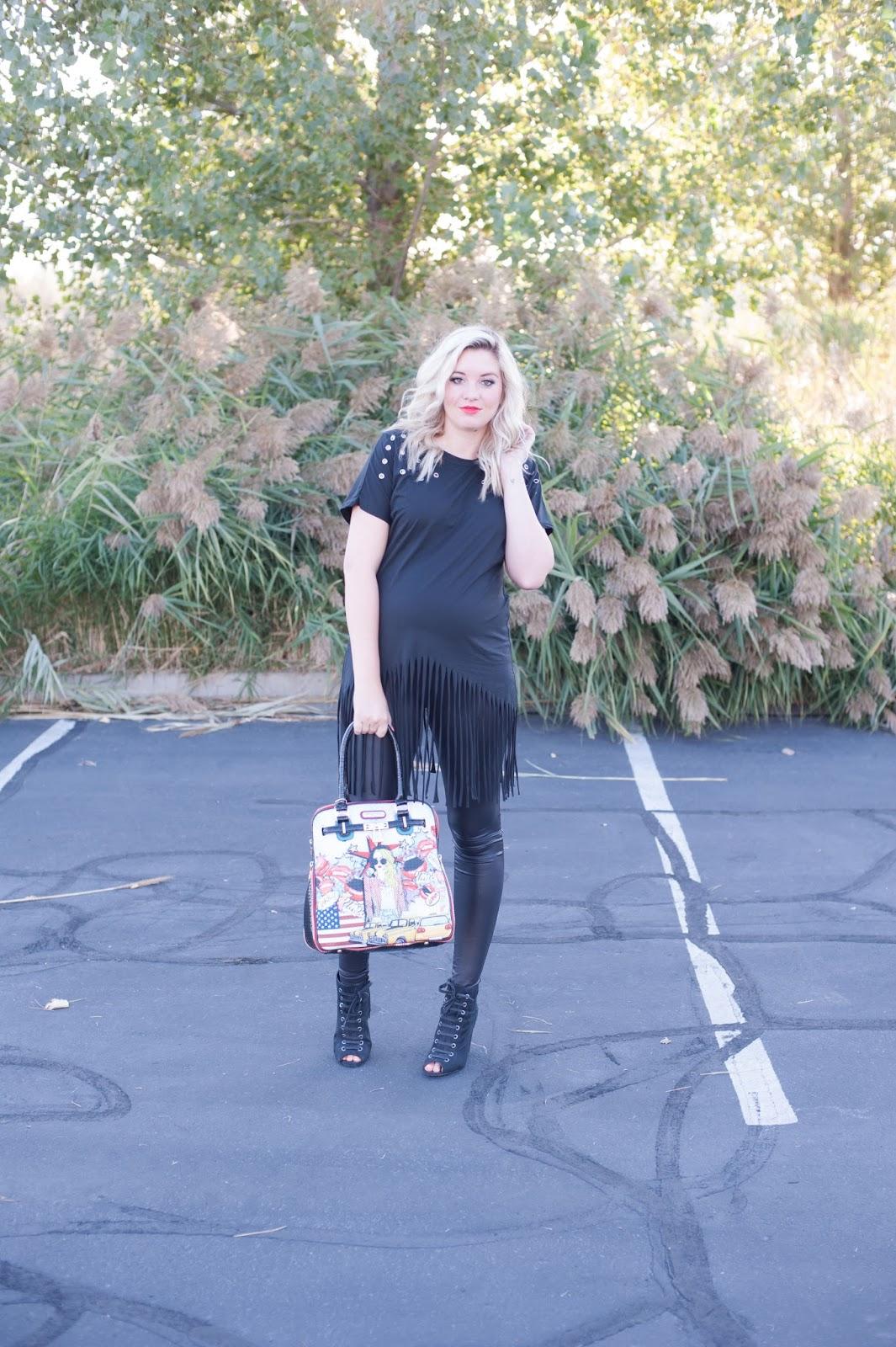Pregnant Outfit, Choies, Utah Fashion Blogger