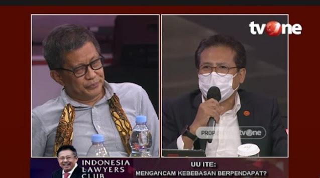Panas! Debat Rocky Gerung Vs Fadjroel Rachman dan Kapitra soal UU ITE