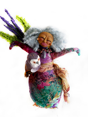 Crone Matters a Cloth and Clay Spirit Doll for the Wise Woman