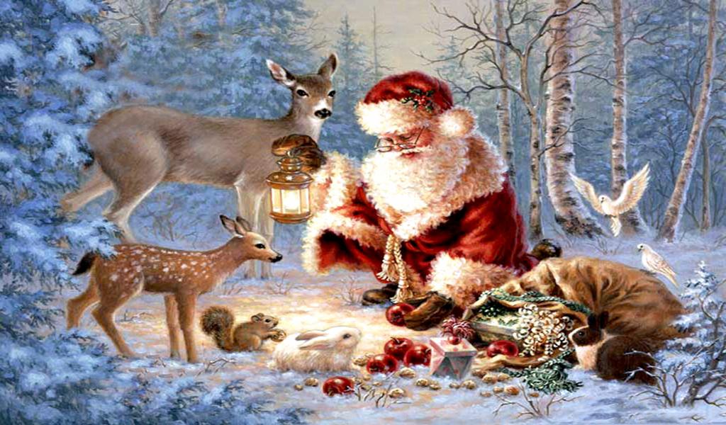 Falling Snow Wallpaper Note 3 Freebies Android Live Wallpaper Santa Claus Christmas