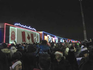 Canada's Holiday Train.