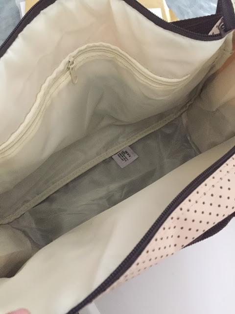 test cadeau unique sac à langer bébé maman maternité blog