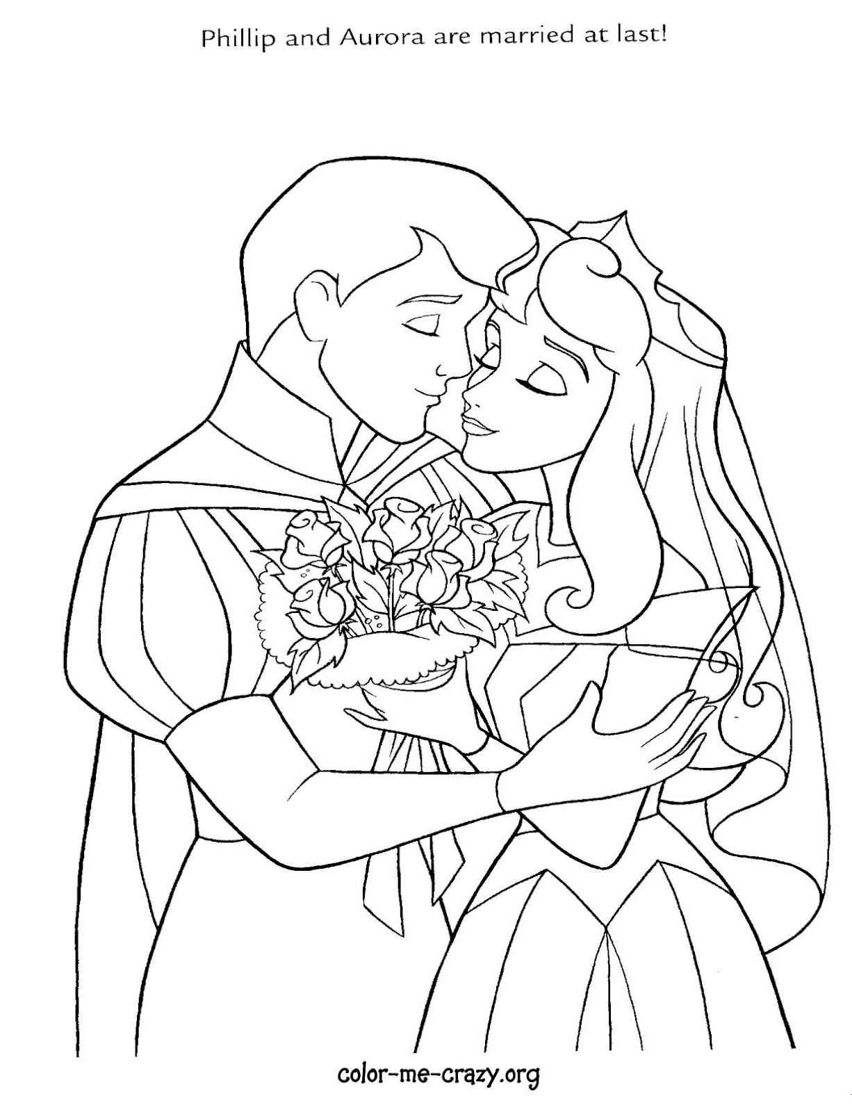 ColorMeCrazy.org: Disney Wedding Wishes