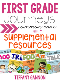 First Grade Journeys Common Core Supplemental Resources