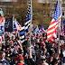 "Chaos Erupts As Trump Rides Through ""Million MAGA March"" In DC"