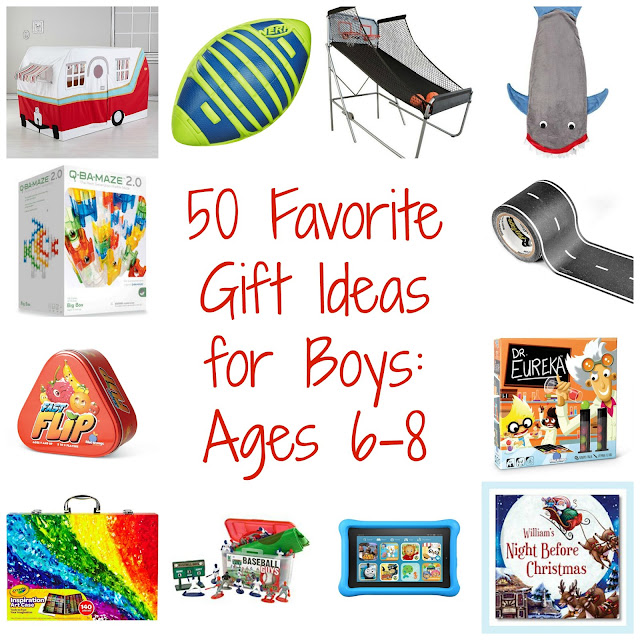 50 Favorite Gift Ideas for Boys || The Chirping Moms
