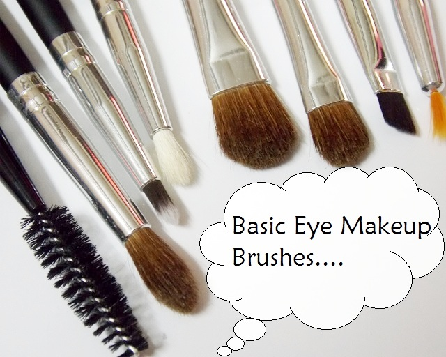 Basic Eye Makeup Brushes