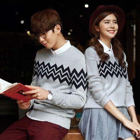 Jual Online Sweater Zig Zag Murah Jakarta Bahan Babytery Terbaru