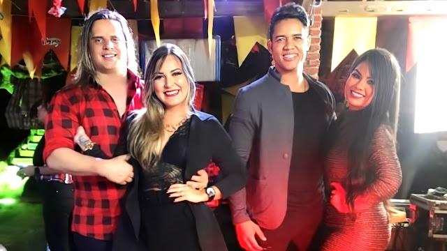 """Marlus Viana posta foto com Paulinha Abelha e ATUAIS DE AMBOS e EXPLANA, """"Somos todos amigos"""""""