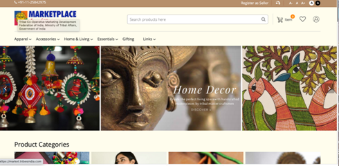 Launch-of-Tribes-India-e-Marketplace