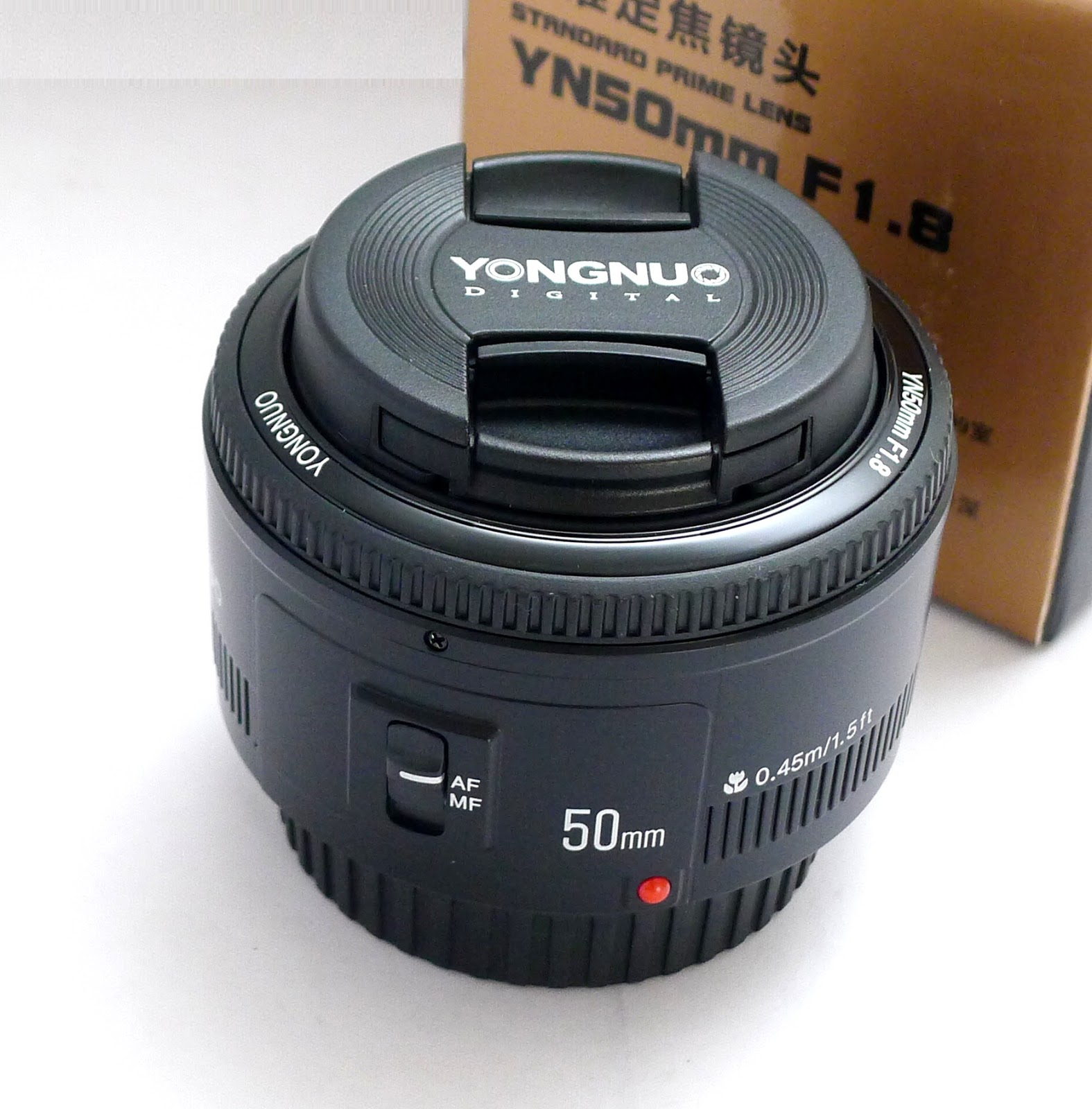 Lensa Fix Yongnuo Yn 50mm F18 Afs For Nikon Update Daftar Harga Bokeh Jual