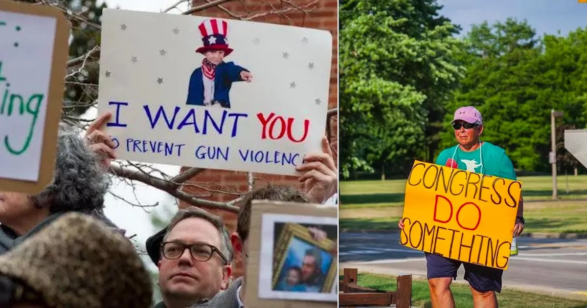 Poll Of Americans Show that Over 80% Favour New Gun Control Laws To Make Citizens Safer