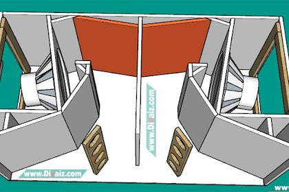 Skema Box CLA 18 inch x2 REAL CLA 8901B Subwoofer Lapangan Bass Mantap