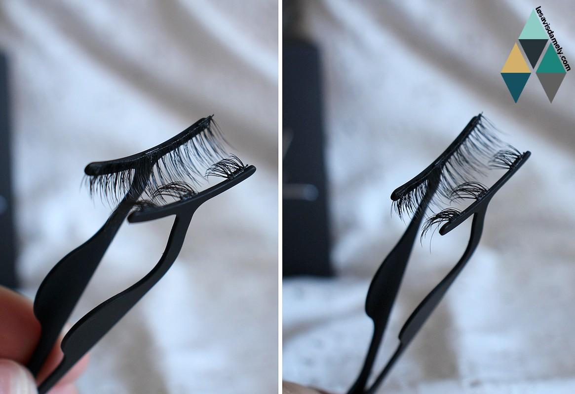 avis et test faux cils magnétiques et kit eyeliner magnetique by sl
