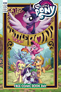 MLP Friendship is Magic #89 Comic Cover Free Comic Book Day Variant