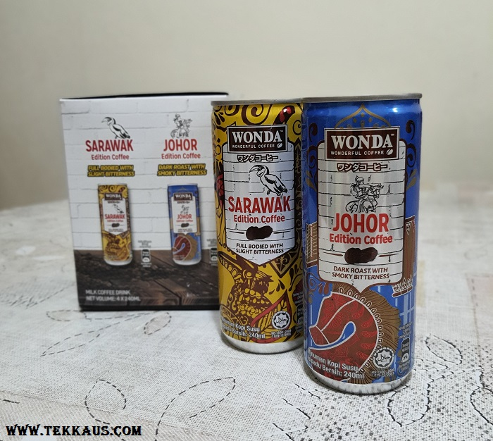 Wonda Coffee Malaysia Day Limited Edition