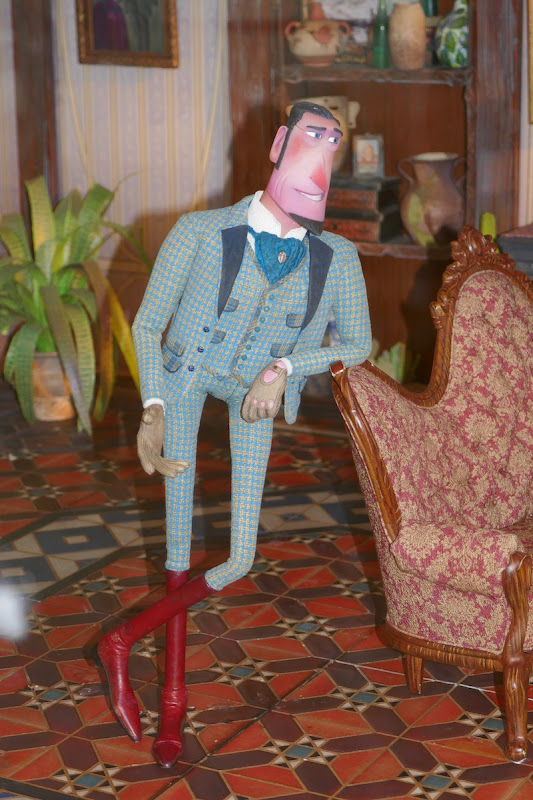 Sir Lionel Frost Missing Link stopmotion puppet