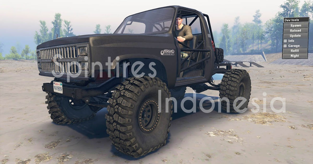 Chevy K10 82 for SpinTires (v03.03.16)