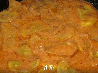 кабачок сладко кислом соусе