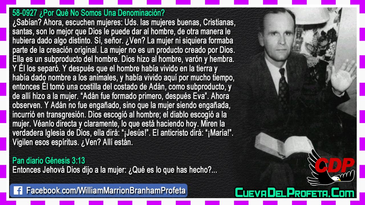 La verdadera Iglesia de Dios y el Anticristo - William Branham en Español