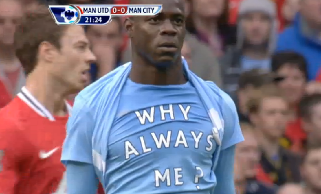reputable site 45dad c3a7b SpotKickJournalism: Mario Balotelli is F***ing Brilliant (Video)