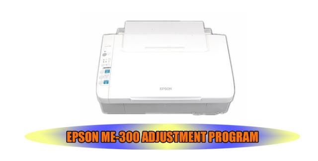 EPSON ME-300 PRINTER ADJUSTMENT PROGRAM