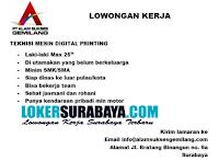 Bursa Kerja Surabaya di PT. Alam Sukses Gemilang Oktober 2020